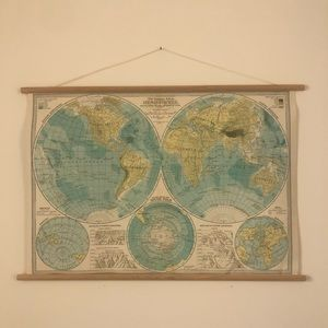 Decorative Poster Map